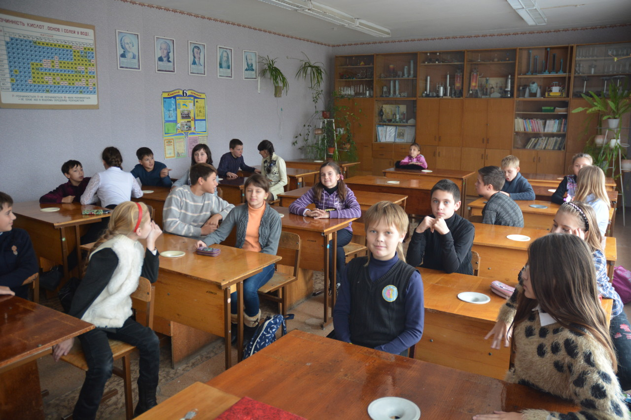 Урок нравственности в 6-м классе ООШ №1 города Купянска